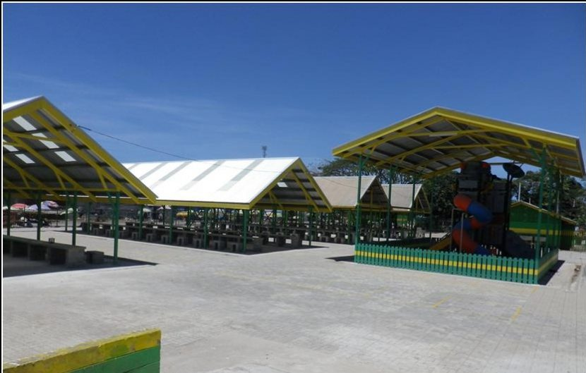 A rebuilt Gerehu Market opens – safe and clean and ready for business