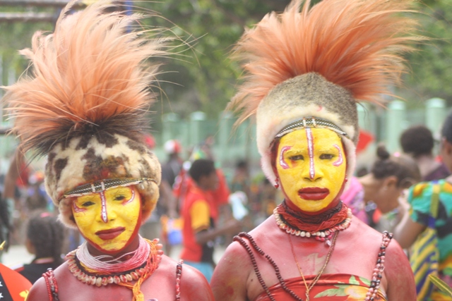 10 unique Papua New Guinea faces you can expect to see at a cultural event