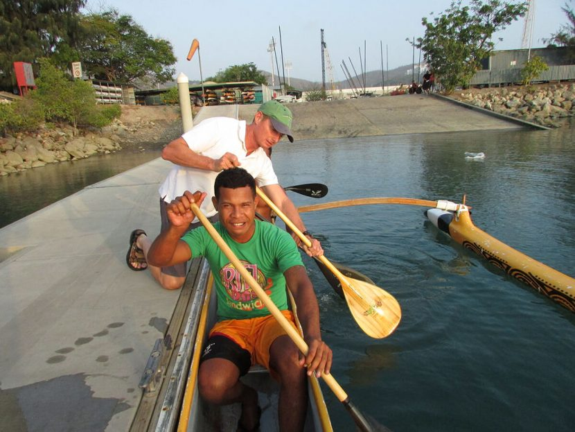 Outrigger Kanu Paddling in Port Moresby – A training session with the Kanu Klab