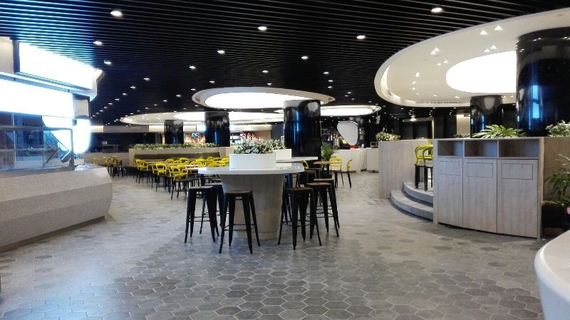 6 amazing photos of the new food court