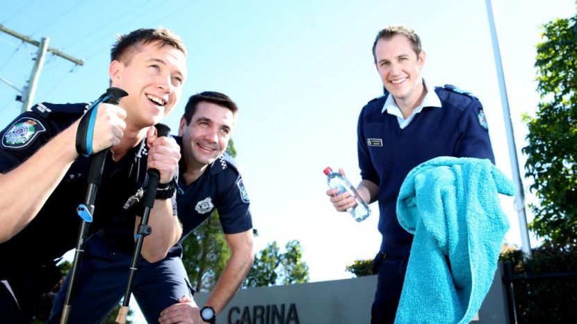Carina Police take on Kokoda Challenge Gold Coast to raise money for youth programs