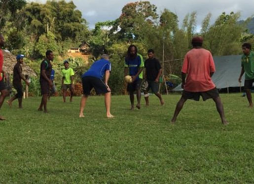 Meet the PNG footy team that treks the Kokoda Trail in thongs and bare feet