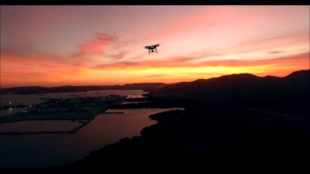 Droning around Port Moresby
