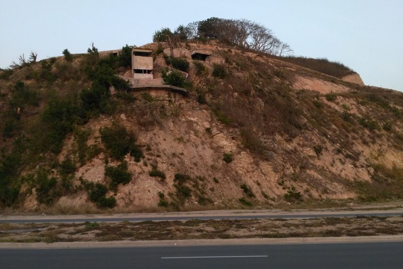 What's happening with the bunkers at Paga Hill?