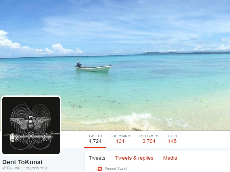 Papua New Guinea in Tweetisphere – who should you follow?