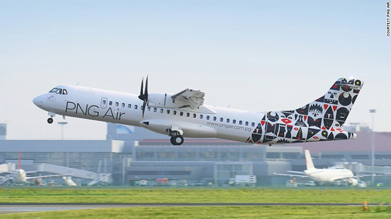 PNG Air named amongst 12 of the best aircraft liveries