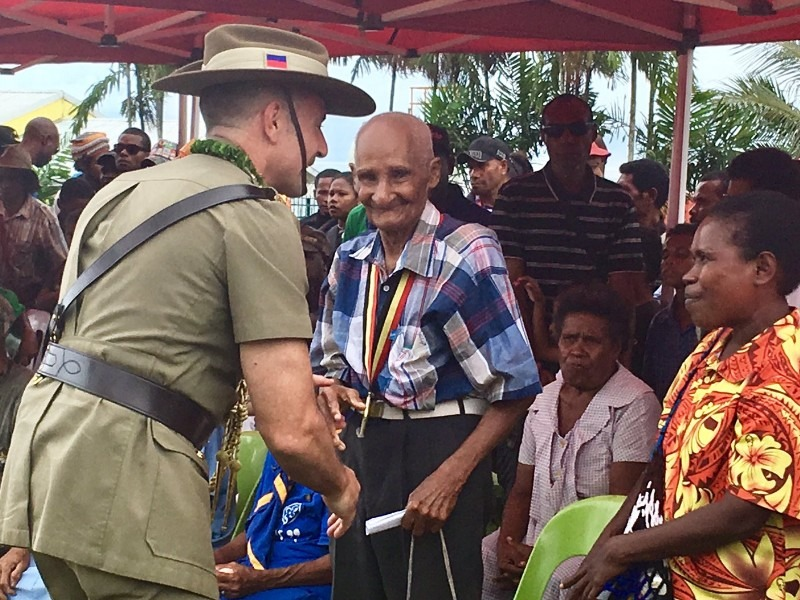 Minister Payne Visits Bomana to Commemorate Battle of Milne Bay 75 Years Later