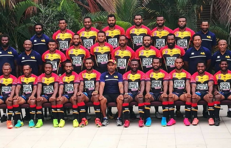 Q & A With PNG Hunters Team Manager Arnold Krewanty