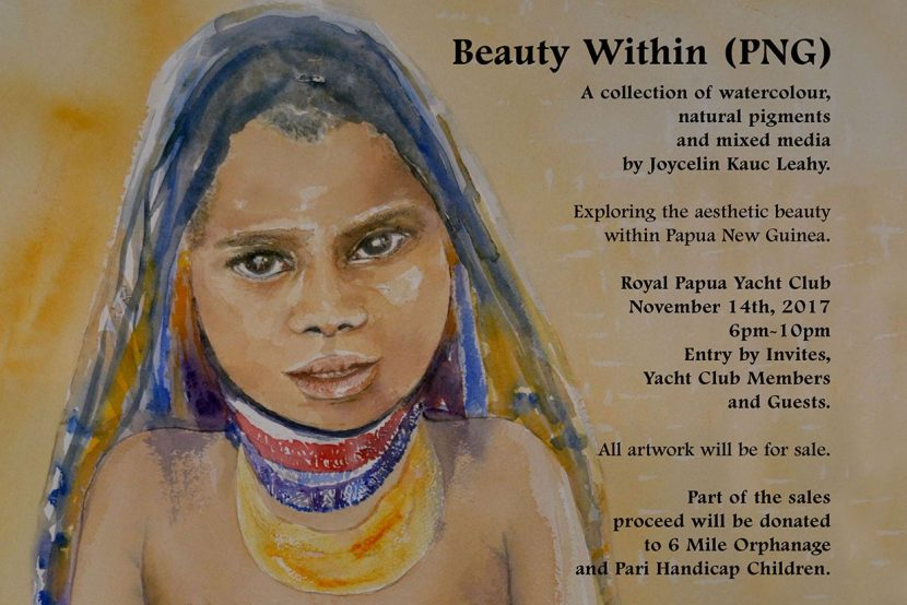 Beauty Within (PNG) First Female Solo Art Exhibition