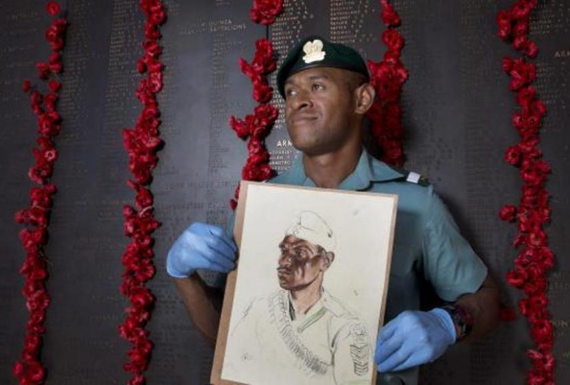Pride of PNG inspired by his war hero great-grandfather