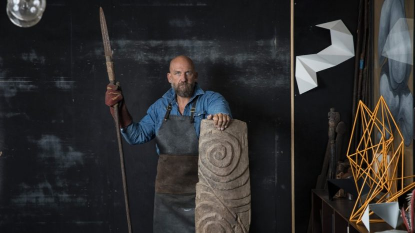 How PNG tribal art inspires sculptor Dion Horstmans