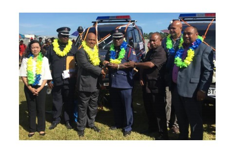 ICTSI PNG aids Lae police