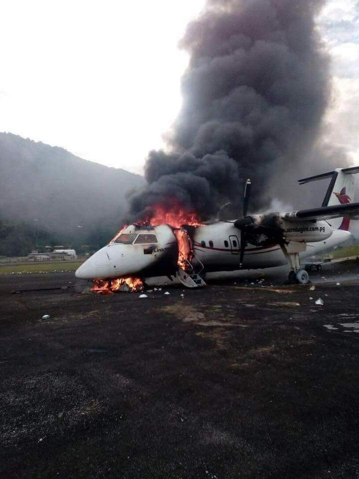 The Pride of Papua New Guinea In Flames