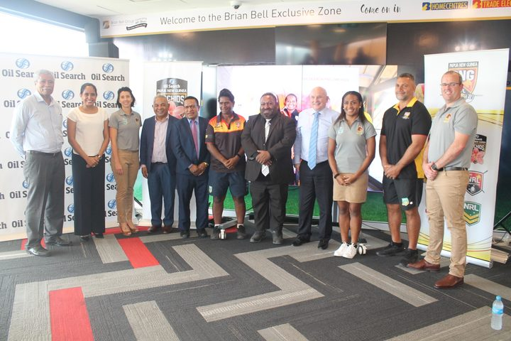 PNG links with Brisbane Broncos to promote women's rugby league