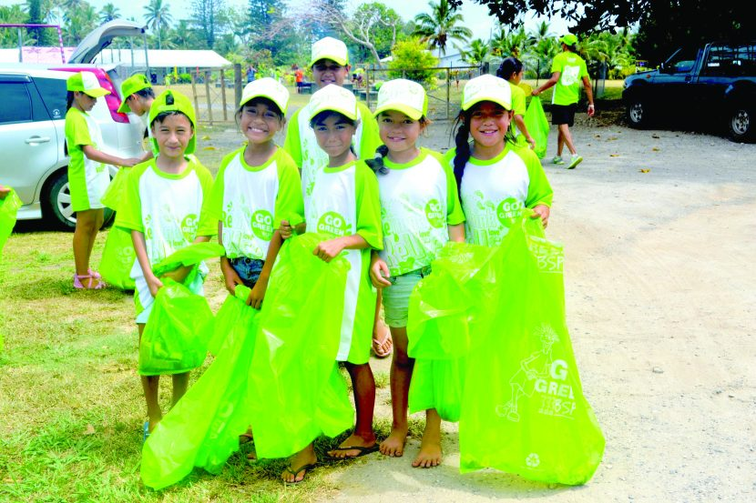 Students take part in Annual BSP School clean-up