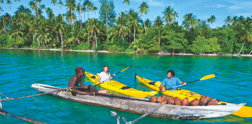 Kayaking Your Way Around Papua New Guinea
