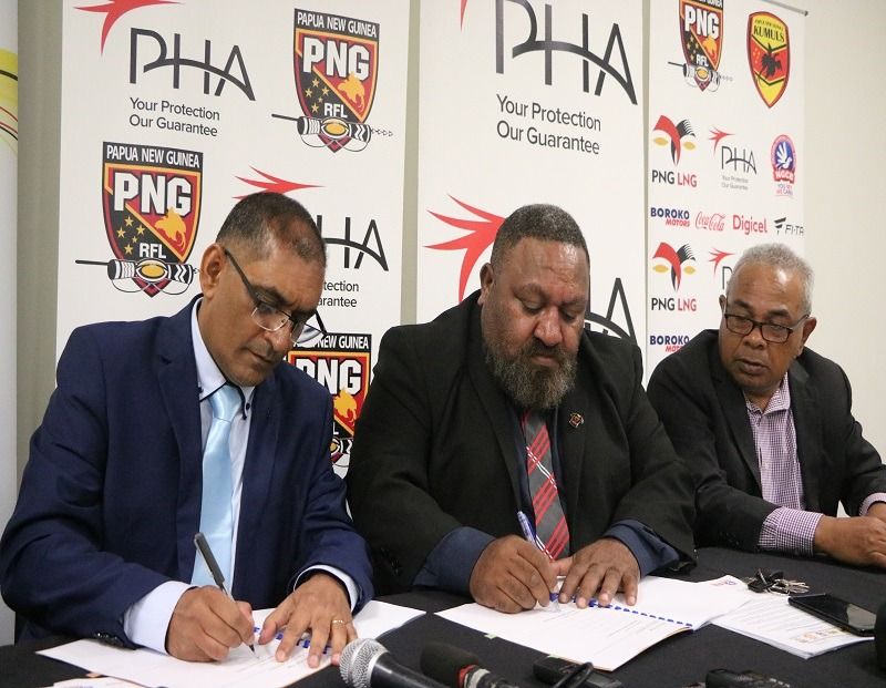 PHA Signs as Major Sponsor for Kumuls