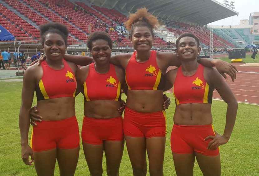 Athletics PNG Responds
