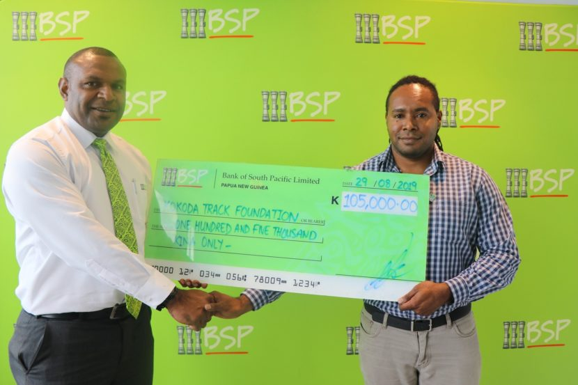 BSP Continues Kokoda Track Foundation Support