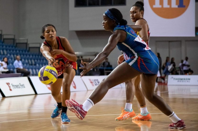 PNG Go Down To Namibia in Netball