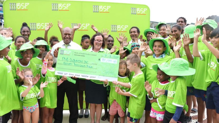 PNG Swimming Inc receives K80, 000 for Junior Development and Aquatic Excellence Program